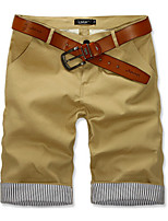 Men's Casual Striped Shorts Pants