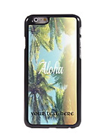 Personalized Gift Aloha Design Aluminum Hard Case for iPhone 6