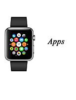 New ultra-thin Touchscreen Smart Worn Waterproof Watch Phone for Andrews ios Bluetooth Bracelet Watch