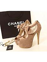 Women's Shoes   Stiletto Heel Heels Pumps/Heels Wedding/Party & Evening Neutral