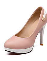 Women's Shoes  Stiletto Heel Heels Pumps/Heels Office & Career/Dress Black/Pink/White
