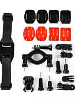 5 In 1 Oudoor Sports Accessories Suit  for Gopro Hero 4/3+/3/2/1/sj4000/sj5000/sj6000