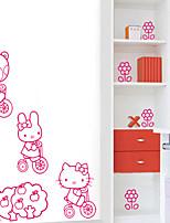 pegatinas de pared de estilo calcomanías de pared pegatinas de pared de pvc gato del gatito