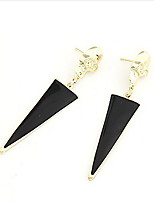 Punk Style Alloy Triangle Pattern Earrings