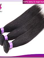brazilian maagd haar steil onbewerkt brazilian straight hair extensions menselijk haar weave te koop