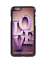 Personalized Gift The Love Design Aluminum Hard Case for iPhone 6