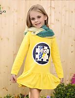 Camiseta/Sudadera y Capucha/Falda/Conjunto de Ropa Chica de - Primavera/Otoño - Algodón - Manga Larga