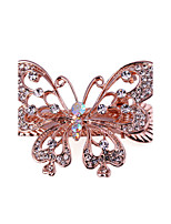 Woman's  Fashion Graceful Butterfly Crystal Hairpin FMYJ017