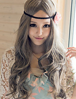70 Cm Heat Resistant Synthetic Cosplay Wig Long Wavy Curly Synthetic Hair Wigs Female Women Sexy Pelucas