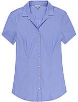Women's Cotton Short Sleeve Blouse