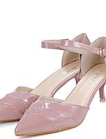 Women's Shoes Stiletto Heel Heels Pumps/Heels Outdoor/Casual Black/Pink
