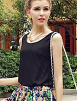 XIXI Women's Fashion Summer Shirt (Cotton Blends)