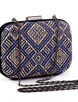 L.WEST®  Women's  Event/Party / Wedding / Evening Bag Weaving Delicate Handbag