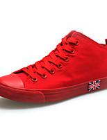 Scarpe Donna Di corda Piatto Comoda/Punta arrotondata Sneakers alla moda Tempo libero/Casual Nero/Blu/Rosso