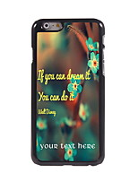 Personalized Gift You Can Do it Design Aluminum Hard Case for iPhone 6