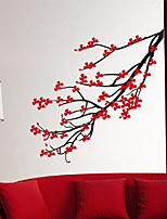Wall Stickers Wall Decals, Modern Romantic cherry tree PVC Wall Stickers