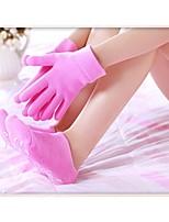 Brand New Silicon Gloves and Socks Spa Gloves Gel Sock Moisturize Soften Skin Care Best Gift for Her