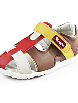 Baby Faux Leather Cage Sandals Boys Outdoor Summer Shoes