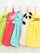 5PCS Hand Towels Cleaning Cloth Random Color