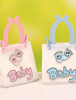 New!! Baby letter & Baby Feet Decorative Wedding Candy Favor Bags Portable Favor Bags Set of 12