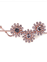 Women's Simple Snow Crystal Mosaic Hairpin FY0061