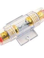 F001 Car Amplifier Inline 60A Gold Plated AGU Fuse Holder (1PCS)