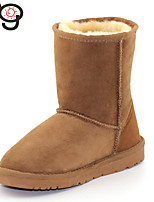 MG Womens Boots Classic Twinface Sheepskint Winter Warm Shoes