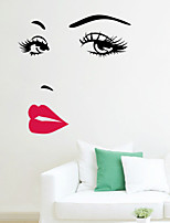 Wall Stickers Wall Decals , Hepburn PVC Wall Stickers