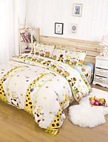 aiwode® 100% de cobertura de algodão edredom queen size define comfortble