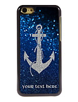Personalized Gift The Anchor Design Aluminum Hard Case for iPhone 5C