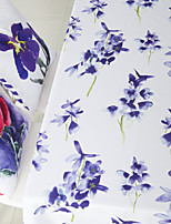 Watercolor Painting Flower Printed Table Cloth