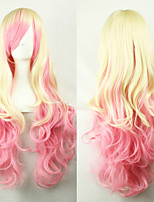 New Style Wave Mix Color Hair Wigs Synthetic Wave Hair Wigs Fashion