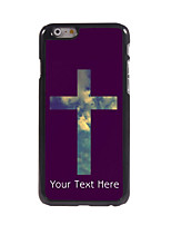 Personalized Gift The Cross and Sky Design Aluminum Hard Case for iPhone 6