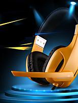 professionnelle usb stéréo Gaming Headset casque avec micro pour PC Gamer