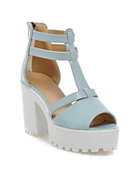 Women's Shoes  Chunky Heel Heels/Peep Toe/Platform Sandals Office & Career/Dress/Casual Multi-color