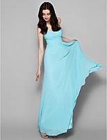 Družička šaty - Na podlahu Žoržet Áčkový střih Srdíčko