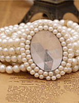 Women Han Edition Pearl Fashion Belt Party/Casual Alloy Others Wide Belt