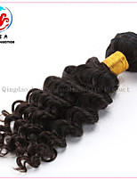 18 Inch 6A Qingdao Facroty Lowest Price Hot Selling In European American Deep Wave Virgin Remy Brazilian Hair Weaving