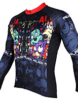PaladinSport Men's Long Sleeve Cycling Jersey New Style CX528 100% Polyester