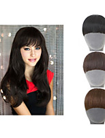 Natural Clip In On  Hair Extension synthetic  Bangs Fringe for women