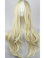 Cos Anime Bright Colored Wigs Break Up in The Golden Curly Wig 75 cm