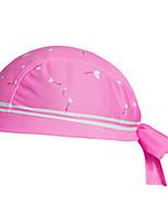 Bandana Bike Cycling,WEST BIKING® Women Soft Ultra Breathable Kerchief Cute Pink Polyester Pirate Kerchief Cycling Accessories