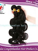 3 Bundles 6A Grade Fashion Style Factory Price 100% Unprocessed Remy Peruvian Body Wave Hair Weaving