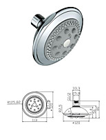 Polished Chrome Showering Replacement 4.4 -Inch Shower Head Fixed Mount