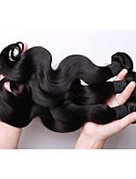 armadura brasileña del pelo remy virginal lía ondulado natural o más onda 3pcs mucho, 100% baratos haces la armadura del pelo humano