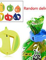 ensemble de 3 cuisine sac de rangement couper frais organisateur joint alimentaire bâton de zip (de couleur aléatoire)