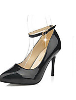 Women's Shoes  Synthetic  Stiletto Heel   Heels   Pointed Toe   Pumps/Heels  Outdoor   Casual