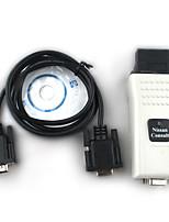 Super Nissan consulta com con la herramienta de diagnóstico de Nissan