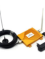 GSM 900Mhz + 3G W-CDMA 2100MHz Dual Band Mini Signal Booster , 2G 3G GSM Mobile Phone Signal Repeater With Antenna