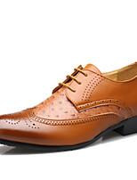 Men's Shoes Party & Evening Leather Oxfords Black/Brown